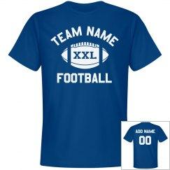 Custom Team/Number Football Dad