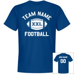 Custom Team/Number Football Dad
