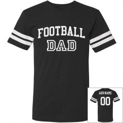 Football Dad Custom Player Number