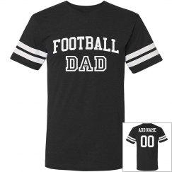 Football Dad Custom Player Number
