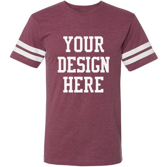 Create Your Own Design Football Dad Unisex Vintage Sports T-Shirt cad279bd3
