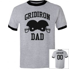 Personalized Gridiron Football Dad
