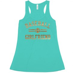 Metallic Trendy Baseball Girlfriend