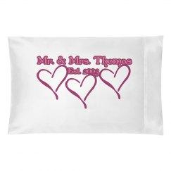 Mr & Mrs Pillow