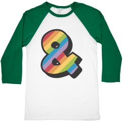 Ampersand Rainbow Love