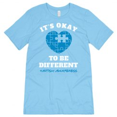 Autism Awareness Different is Okay
