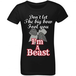Beast Cheer Girls' Tee