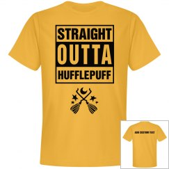 Custom Straight Outta Hufflepuff