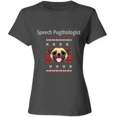 Speech Pugthologist Tee