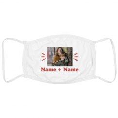 Custom Name And Photo Kids mask