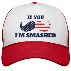 Funny July 4th Drinking Hat