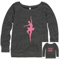 Ballet Pointe Sweatshirt