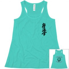 Youth Flowy Tanktop with Kanji and Logo