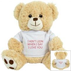 I Ain't Lion Plush