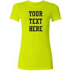Personalized Neon Tee