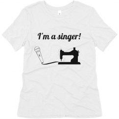 Singing is wonderful-women's tee