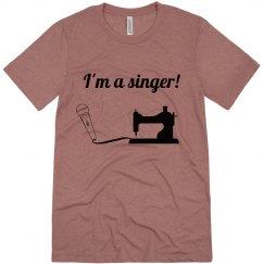 Singing is wonderful-men's tee
