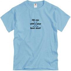 Hockey Best Shot t-shirt blue