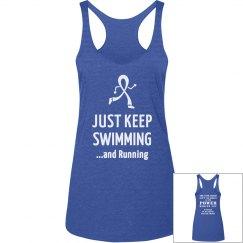 Just Keep Swimming..and Running - Elijah Stamp Font