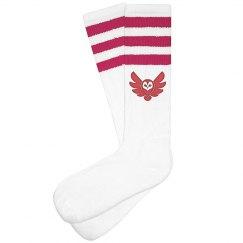 Fly Girl 3-stripe Custom Knee Highs