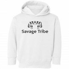 Savage Tribe Hoodie - White