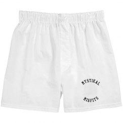 Shorts Design 1: Misfits Unisex Cotton Boxer Shorts