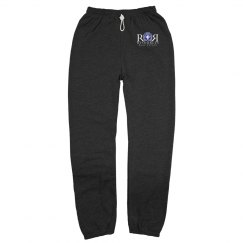 Gray Unisex Sweatpants