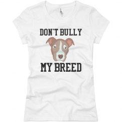 no bullying pitbulls
