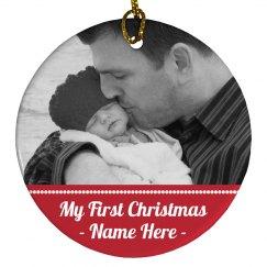 Custom Baby's 1st Christmas Gift