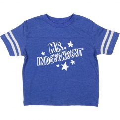 Mr. Independent Toddler Tee