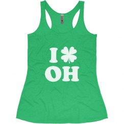 I Love St Patricks Day in Ohio