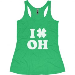 I Love St Patricks Day in Ohio