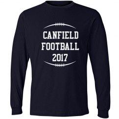Canfield Football 2017 Custom Men's Shirt