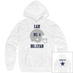I Am No.4  No. 1 Fan Hoodie