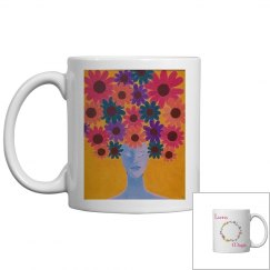 She Is- Latina Magic Coffee Mug