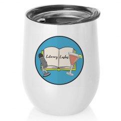 Literary Lushes 12oz Wine Tumbler
