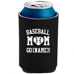 Custom Baseball Mom With Name