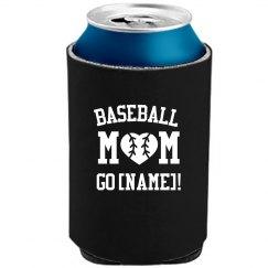 Custom Baseball Mom With Name