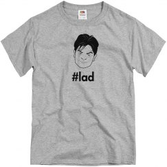 Lad Charlie Sheen Gray SS Tee (HD)