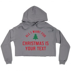 Custom Christmas All I Want Is Name
