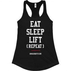 Eat Sleep Lift Tank