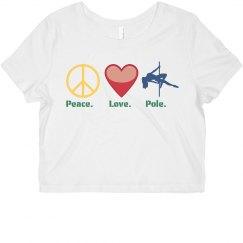 Peace. Love. Pole.
