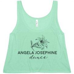 Angela Josephine Flowy Crop