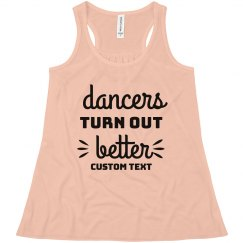 Dancers Turn Out Better Tank