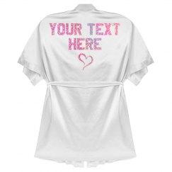 Custom Glitter Valentines Day Gift