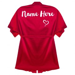 Custom Name Personalized Robe