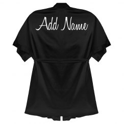 Personalized Back Print Robe Gift