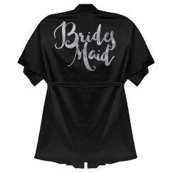 Metallic Rose Gold Bridesmaid