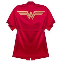 Wonder Woman Bathrobe Gift