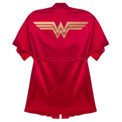 Wonder Woman Bathrobe Gift